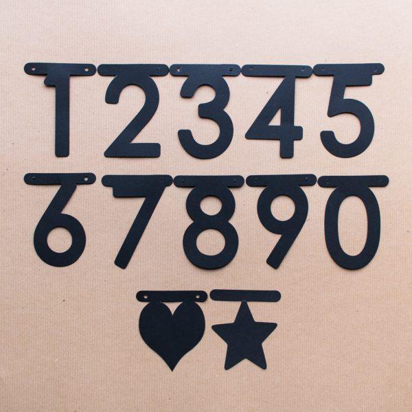 Buchstaben Girlande