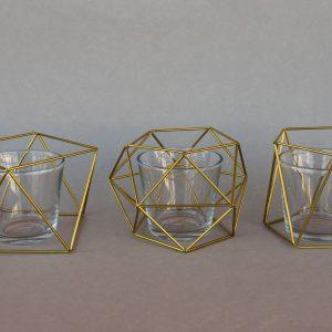 """Teelichthalter """"Geometrisch"""""""