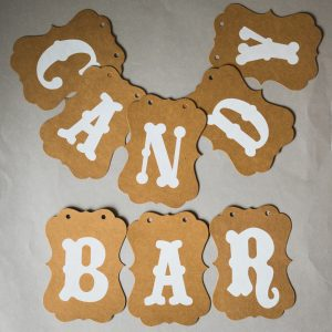"Girlande ""Candy Bar"""