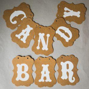 """Girlande """"Candy Bar"""""""